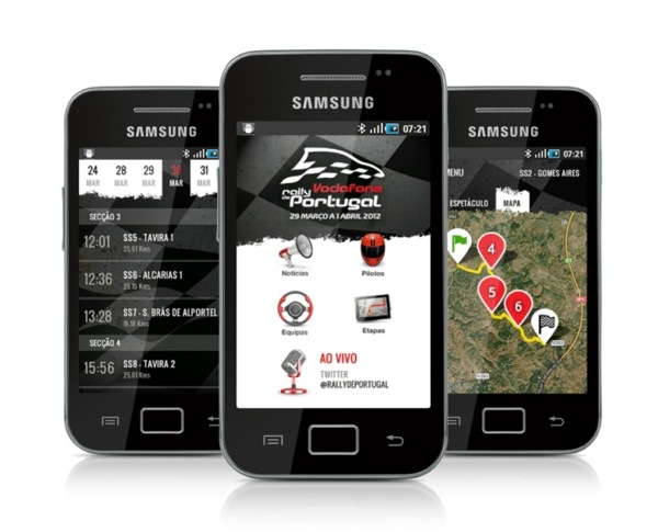 App Vodafone Rally de Portugal Android