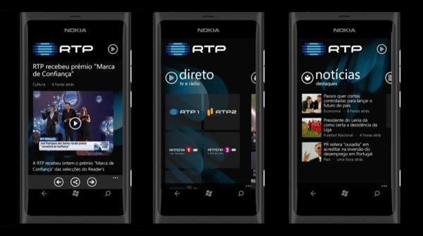 App RTP Mobile WP
