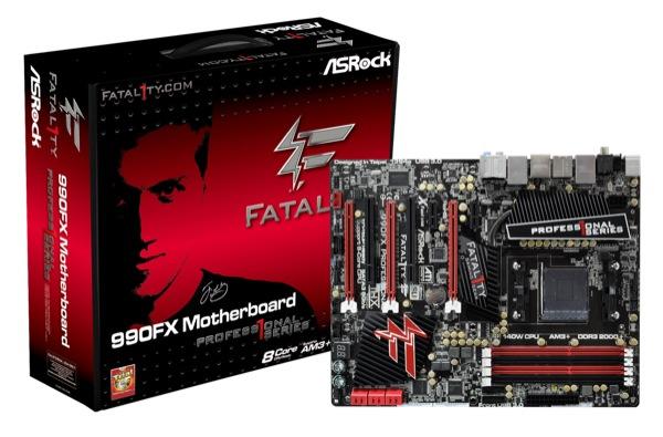 ASRock s Fatal1ty 990FX Professional ZWAME
