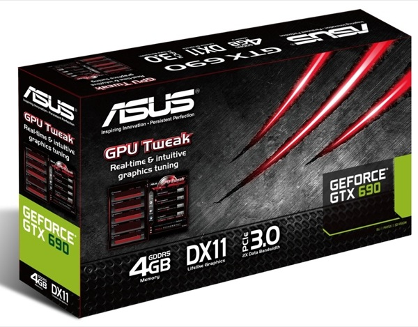 ASUS GeForce GTX 690 Graphics Card Box ZWAME