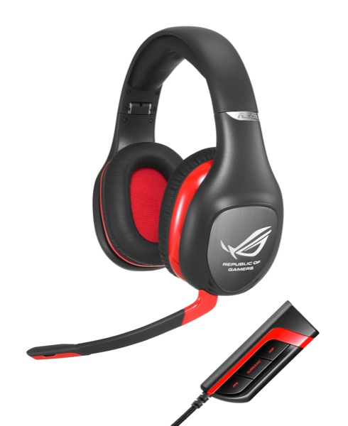 ASUS ROG Vulcan PRO Gaming Headset with ROG Spitfire USB Audio Processor ZWAME