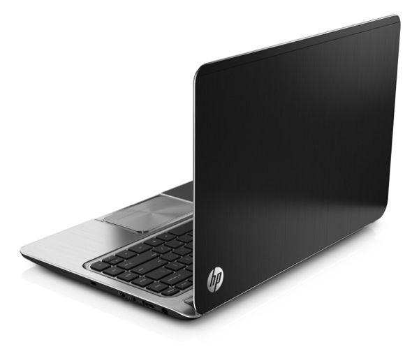 ENVY Ultrabook RearRightOpen BlackSilver ZWAME