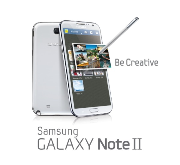 GALAXY Note II Product Image Key Visual 1 ZWAME