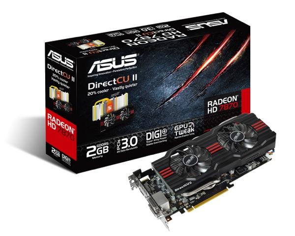 PR ASUS HD 7870 Direct CU II Graphics Card ZWAME