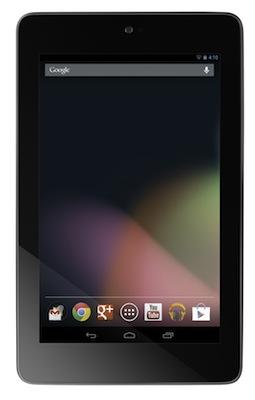 Google Tablet Front