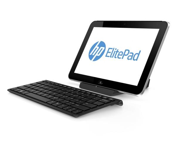HP ElitePad 900 with Keyboard Left Facing ZWAME