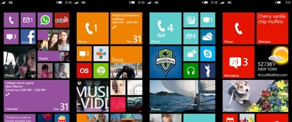 WindowsPhone8StartScSet1 Print ZWAME