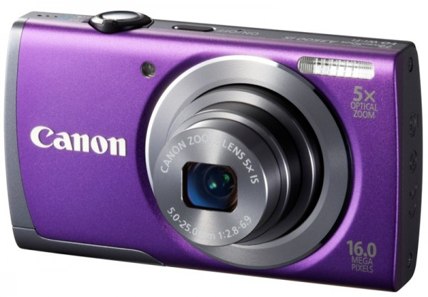 PowerShot A3500 IS PURPLE FSL_ZWAME