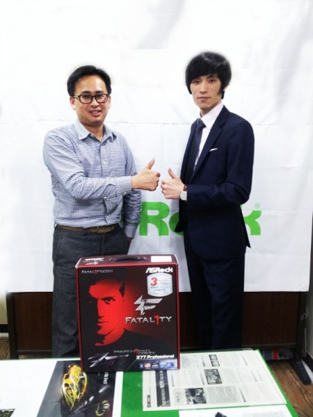 ASRock Announces Sponsorship of Korea IM team_ZWAME