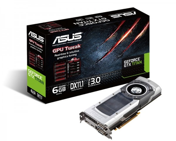 ASUS GeForce GTX Titan graphics card with box_ZWAME