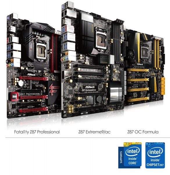 ASRock's 8 Seires Top-end Motherboards