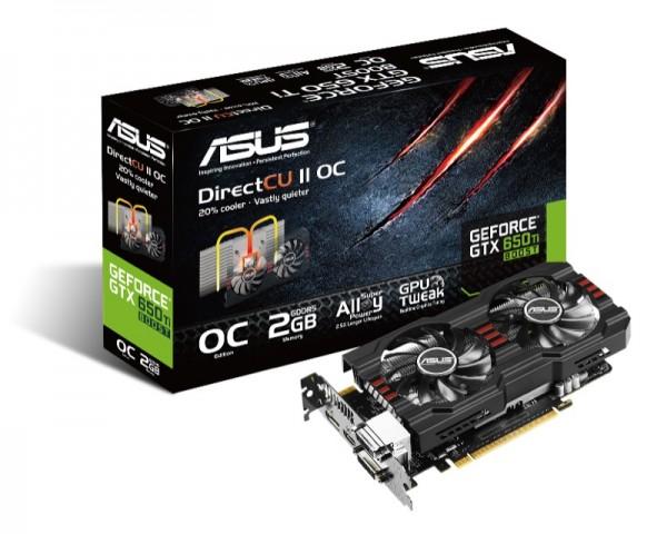 ASUS GeForce GTX 650 Ti BOOST DirectCU II_ZWAME