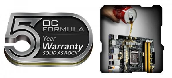 ASRock Guarantees 5 Year Warranty for Z87 OC Formula Motherboards with Waterproof Conformal Coating_ZWAME