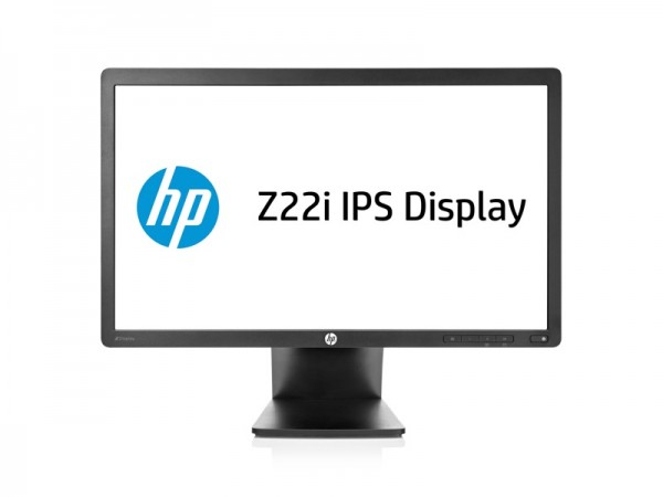 HP Z22i 21.5-inch IPS Monitor , mid-height, center facing_ZWAME