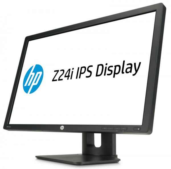 HP Z24i 24-inch IPS Display, Left Facing_Hero_ZWAME