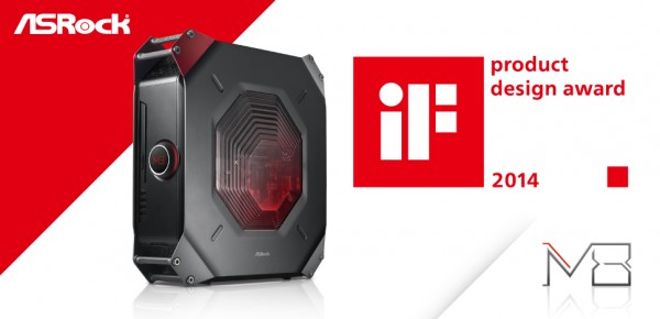 iF 2014 Product Design Award_ASRock Gaming PC_M8