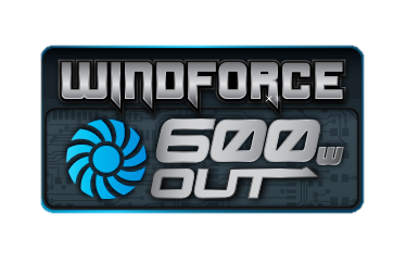 WINDFORCE 600W logo